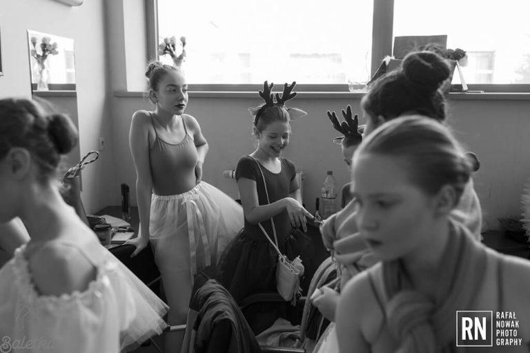 Roztańczone opowieści Królowej Śniegu - backstage