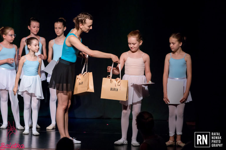 zakończenie roku baletowego